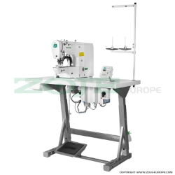 Electronic bartacking machine for light and medium materials - complete sewing machine